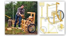 Firewood Cart Plans - Outdoor Plans and Projects | WoodArchivist.com