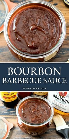 A zesty homemade bourbon barbecue sauce perfect for pulled pork or other barbecued meats. A zesty homemade bourbon barbecue sauce perfect for pulled pork or other barbecued meats. Homemade Bbq Sauce Recipe, Barbecue Sauce Recipes, Homemade Seasonings, Grilling Recipes, Bbq Sauces, Vegetarian Grilling, Healthy Grilling, Smoker Recipes, Makers Mark Bbq Sauce Recipe