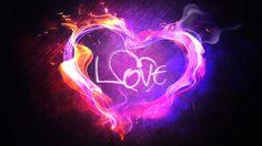 desktop love heart wallpaper hd