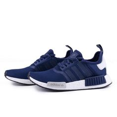 Adidas Shoes OFF! Adidas originals NMD Men- running trainers sneakers blue(in stock) Nmd R1, Running Trainers, Running Shoes, Blue Sneakers, Shoes Sneakers, Sneakers Women, Adidas Sneakers, Fashion Boots, Sneakers Fashion
