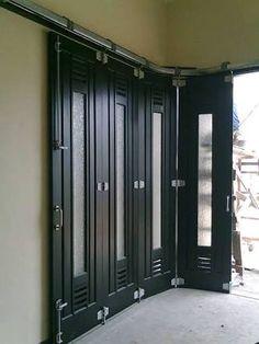 Image result for model pintu garasi lipat