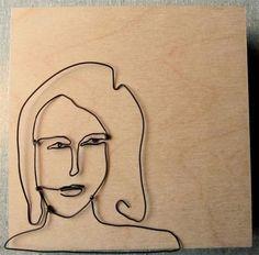 Shelli Markee, wire art