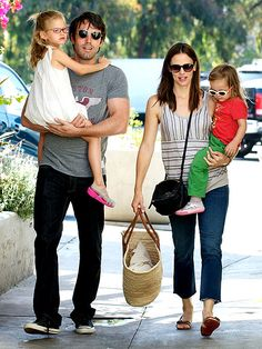 My favourite celebrity couple, they seem so in love, family oriented and down to earth.  Ben Affleck & Jennifer Garner. Love them!
