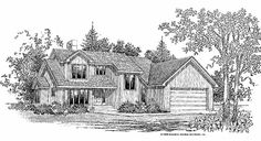 Eplans Shed House Plan - Retains Some Traditional Flavor - 2055 Square Feet and 3 Bedrooms(s) from Eplans - House Plan Code HWEPL07240
