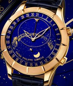 Patek Philippe  -  2009 exclusive  Celestial 5106 with astronomica