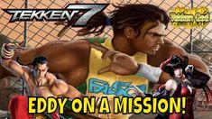 SHAOLIN VS CAPOEIRA/ ELIZA'S BURIAL! (Tekken 7 Season 3)- Eddy Gordo Mat... Tekken 7, Season 3, Wrestling, Youtube, Capoeira, Lucha Libre, Youtubers, Youtube Movies