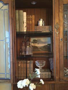 Antique books, cut glass, and silver!!