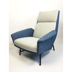 Claude Vassal armchair edited by Claude Delor 1950s