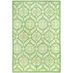 Chelsea Green/Beige 7 ft. 9 in. x 9 ft. 9 in. Area Rug