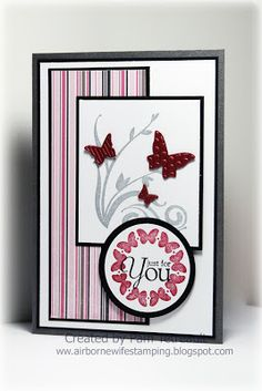 Just for You    ... lot of butterfly cards