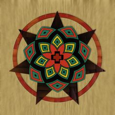 Cherokee Protection Mandala Copyright 2007 Jarrett Terrill This mandala is inspired by traditional Cherokee artwork. It is a digital rendering on Canvas. It is currently on display at the Aquarian Age Art Gallery. Cherokee Symbols, Native Symbols, Cherokee History, Indian Symbols, Cherokee Nation, Native Art, Cherokee Chief, Cherokee Srt8, Cherokee Rose