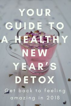 Need to detox for the New Year? I've got you covered, and you don't need to go on a juice cleanse or starve yourself for this one.