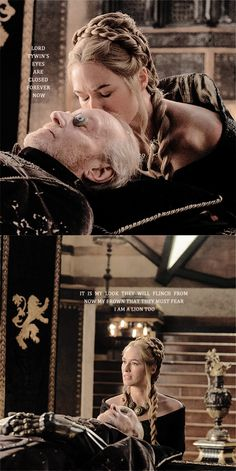 Tywin+Lannister+Game+of+Thrones | Cersei and Tywin Lannister - Game of Thrones Fan Art (38417893 ...