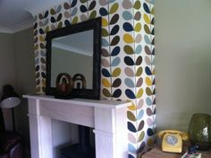 Orla Kiely Wallpaper Multi-Stem SeaGreen for Harlequin