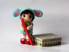 Cynthia, the little bunny girl