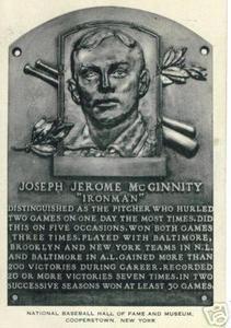 "Joe ""Iron Man"" McGinnity"