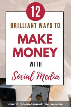 12 Easy Ways to Make Money with Social Media Marketing. Learn How to Make Money Online with Social Media. Learn how to promote product and services on social media for beginners and experts. #SocialMediaMarketing #socialmedia #makemoney #pinterest #facebook #instagram #youtube #twitter Youtube Hacks, You Youtube, Way To Make Money, Make Money Online, How To Make, Social Networks, Social Media Marketing, Best Online Jobs, Work From Home Jobs