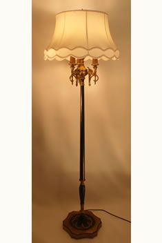 Antique table lamps value liminality360 antique table lamps value 1930 black leather and chrome floor lamp 495 lights pinterest aloadofball Image collections