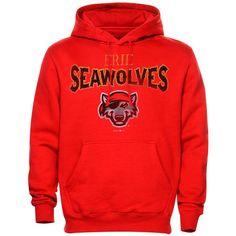 Erie SeaWolves Heavy Blended Hoodie - Red