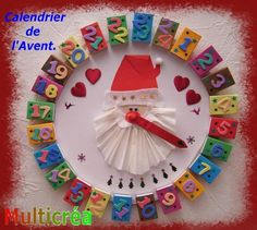 French Advent Calendar made with matchboxes ~ inspiration only photo Christmas Countdown, Kids Christmas, Christmas Crafts, Diy Crafts For Kids, Art For Kids, Advent For Kids, Paper Christmas Decorations, Advent Calenders, Theme Noel