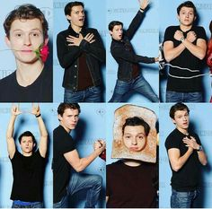Tom Holland and Peter Parker Imagines - 10 seconds (T.H) - - Read 10 seconds (T.H) from the story Tom Holland and Peter Parker Imagines by MyTomQuacksonHolland (Mr. Mercury) with Funny Marvel Memes, Marvel Jokes, Dc Memes, Tom Holland Peter Parker, Thats 70 Show, Funny Happy Birthday Meme, Tom Holand, Tommy Boy, To My Future Husband