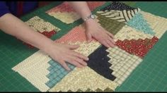 Jenny shows us how easy the Log Cabin Quilt Block is using honey bun or jelly roll strips.  By taking one honey bun you are able to make 21 Log Cabin Blocks.  Also great for stair step pattern, fields and furrows, bow tie, and more!! Be creative and play around!. Honey Buns. Jelly Rolls.