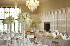#weddingideas Hengrave Hall Wedding Breakfast