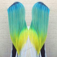 Fluorescent Dip-Dye