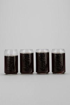 Coke Glass - Set Of 4. $16.