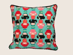 Sommerwies is a brand that produce and sell custom made cushion covers and prompt delivery cushion covers. Here you can buy handmade cushion covers online in Switzerland. Cushion Covers Online, Handmade Cushion Covers, Geisha, Cushions, Holiday Decor, Shop, Beautiful, Throw Pillows, Cushion