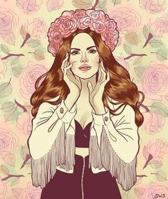 lana del rey and marina and the diamonds aesthetic - Google Search
