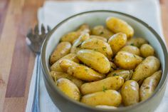 Sous Vide Butter-Poached Potatoes