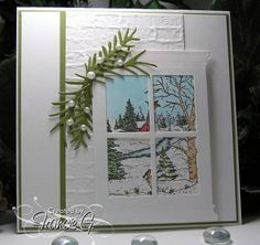 Tranquil Wonderland (FG) by Francie G. - Cards and Paper Crafts at Splitcoaststampers
