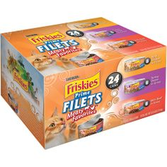Friskies Wet Cat Food Classic Pate Poultry Favorites Variety Pack 55 oz Cans Pack of 32 includes 8 each Poultry PlatterLiver and ChickenTurkey and Giblets Mixed Grill >>> Details can be found by clicking on the image. (This is an affiliate link) Cat Food Coupons, Purina Friskies, Cat Diet, Mixed Grill, Canned Cat Food, Food Recalls, Poultry, Pet Supplies, Places