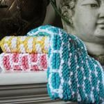 Colorful and Posh Knitted Dishcloths