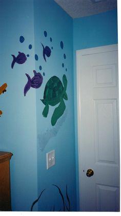 Shipwrecked Bedroom: Sea Turtle
