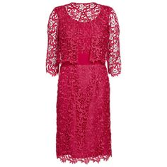 Gina Bacconi Lace Jacket and Dress Mother of the Bride outfit