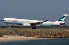 Airbus A330-343X   Cathay Pacific Airways   B-HLR