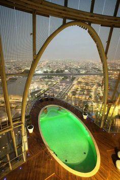 The Torch Doha: 300 meters high, 360° panoramic views of #Doha