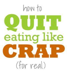 Always slim down on holiday, eating crap food?