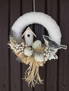,,s vtáčkom,, by artina - SAShE.sk - Handmade Veľká Noc