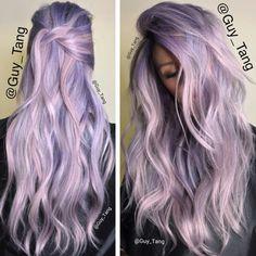 Lilac/ lavender hair
