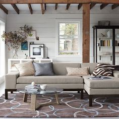 Click Interiores | Sofás com Chaises, Quem Tem Não Troca!
