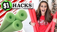 NEVER BEFORE SEEN Pool Noodle HACKS 🎄 Christmas in July 2021 | Dollar Tree DIY - YouTube Cute Christmas Ideas, Christmas Craft Fair, Dollar Tree Christmas, Dollar Tree Crafts, Christmas Crafts, Christmas Inspiration, Christmas Videos, Candy Land Christmas, Christmas In July