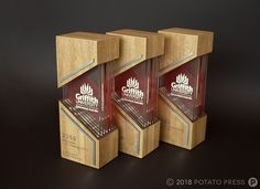Custom Awards & Event Collateral Archives - Page 2 of 11 - Potato Press Cnc, Shoe Store Design, Acrylic Trophy, Custom Trophies, Plaque Design, Acrylic Awards, Design Awards, Event Design, Trophy Design