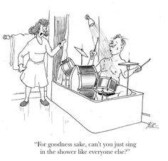Shower Drummer