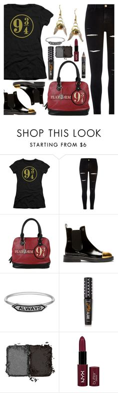 """""""The Ones That Love Us Never Really Leave Us"""" by deborah-calton ❤ liked on Polyvore featuring Trevco, River Island, Marni, L'Oréal Paris, NARS Cosmetics, NYX, harrypotter, chelseaboots, mischiefmanaged and harrypotterpolyvore"""