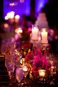 Lighting can totally change the way your theme or decor look! #weddingdecor #globalweddings