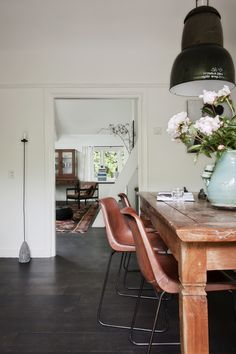 love the floor, chairs & rug
