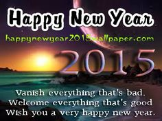 Happy New Year Wishes and Greeting Cards 2015